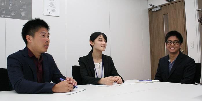 新卒社員座談会(前半)